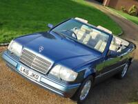 Mercedes-Benz E320 3.2 auto W124 Cabriolet Sportline 1 Owner From New