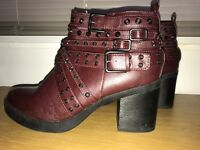 Women's size 6.5 heeled boots