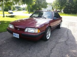 1988 Ford Mustang LX 5.0 (Low mileage - Good mods)