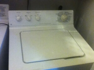 GE Washer and Gas dryer