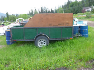 4.5' by 8' U-Built Utility Trailer