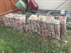 Patio stone paver brick