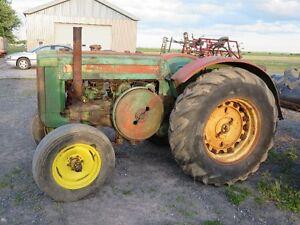 Tracteur John Deere D