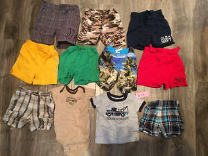 Lot of Boys size 6-12 month summer clothes