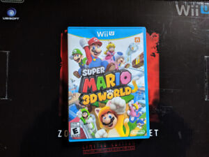 Wii U Zombie U edition original package and content + 3d Mario