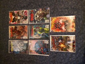 8 Special Edition, 3D (Lenticular) covers from DC New 52.