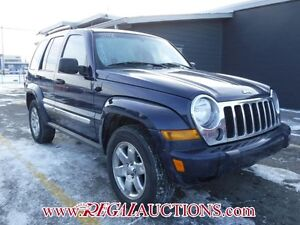 2006 JEEP LIBERTY LIMITED 4D UTILITY 4WD LIMITED