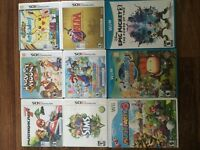 Variety 3DS/Wii/WiiU Games for sale!!