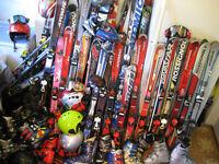 Plein d`ensembles de Ski Alpin enfant ado adulte,bottes ski pôle