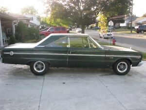 Excellent Classic Car Forsale 1966 Plymouth Belveder 11