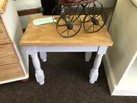 Small occasional table shabby chic