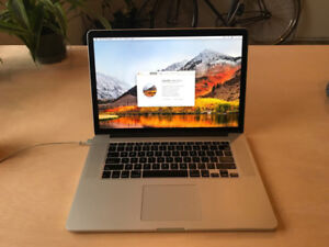MacBook Pro 15-inch Retina Mid-2015 16GB, i7 2.8GHz 1TB AMD R9