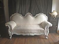 Grand ornate sofa for sale a massive 4 seater