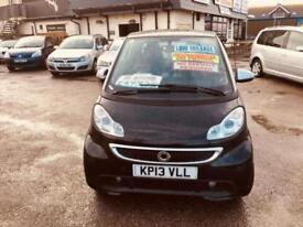 Smart fortwo 1.0 mhd ( 71bhp ) Softouch 2012MY Pulse Cheap Road Tax £0