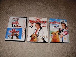 DR DOOLITTLE DVDS SET FOR SALE!