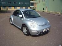 VOLKSWAGEN BEETLE 2.0 8V ** Trade PX ** 2001 Petrol Manual in Silver