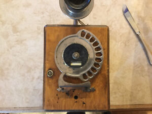 Antique 11 digit Automatic Electric Company Phone
