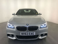 2013 63 BMW 520D M SPORT AUTOMATIC DIESEL 1 OWNER BMW SERVICE HISTORY FINANCE PX