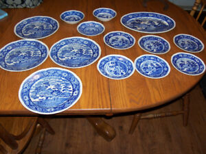 Original Blue Willow Dishes Made in Occupied Japan 1940s For sa