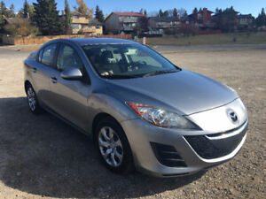 2010 Mazda 3 GS Sedan for Sale - A set of winter tire with rims