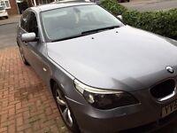 BMW 5 Series 2.0 520d SE 4dr Grey Manual Car