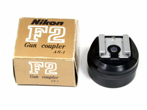 Nikon Flash Unit Gun Coupler AS-1 Adapter For F F2 **EXCELLENT+** Condition