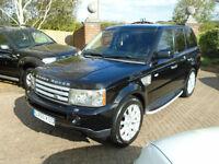 2005 55 reg Land Rover Range Rover Sport 2.7TD V6 Auto HSE