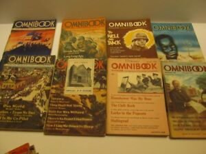 44 0MNIBOOK MAGAZINES 1943-1946  $30