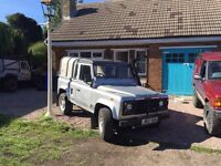 Land Rover defender 200tdi pick up