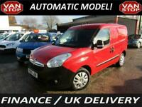 2015 VAUXHALL COMBO 1.6 CDTi 16V TECHSHIFT - AUTOMATIC - 1 OWNER - FSH - AIR CON