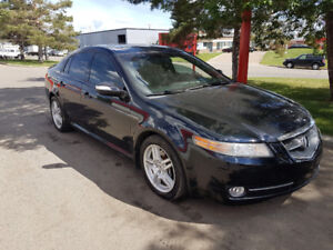 2008 Acura TL,  type S, auto, Leather, NAVI, back up cam, 185k