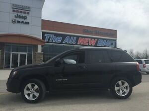 2015 Jeep Compass North 4x4  ACCIDENT FREE, MP3/AUX, LEATHER