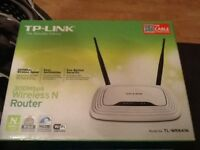 TP link 300mbps wireless n router and ADSL2+ Ethernet/usb modem router