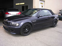 2002 BMW M3 CABRIOLET---REDUCED! CLEARING OUT ALL CONVERTIBLES!!