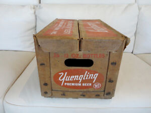 Vintage Rare 1959 Yuengling Premium Beer Pale Dry Wax Beer Case Kitchener / Waterloo Kitchener Area image 4