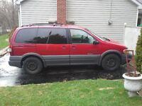 1998 Pontiac Trans Sport Minivan, Van