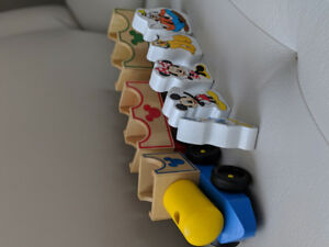 Mickey mouse train set