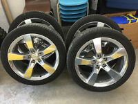 "20"" OEM rims & tires off 2010 Camaro 2SS RS"