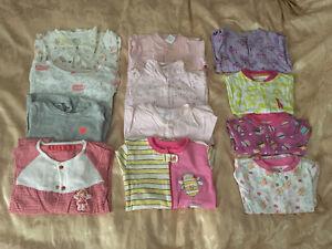 0-1 baby girl's clothes