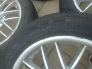 205/55/17 rim and tires