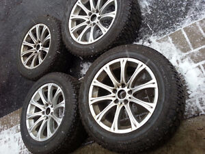 BMW e60 M5 Replica Rims and Brand New Barely Used Winter Tires