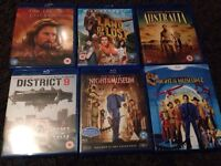 £3 each blue ray films