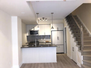 Brand new 3+den townhouse in the Junction,w/private patio
