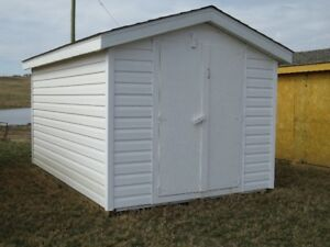8' x 12' Vinyl Sided Storage Shed