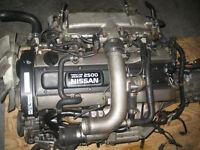 NISSAN SKYLINE R33 RB25DET ENGINE 5SPD TRANS JDM RB25 MOTOR TRAN