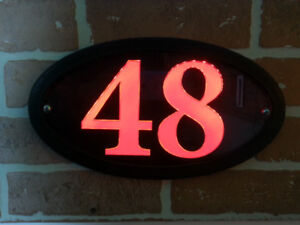 LED HOUSE NUMBER HOME ADDRESS SIGN- LUMA STYLE $49.99