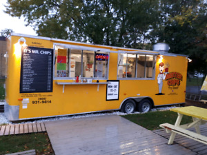 Food and Fry trailer For sale