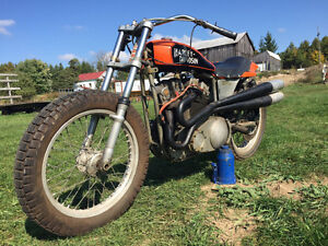 1975 Harley-Davidson XR750 Race Bike