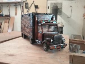 Truckers urn for sale
