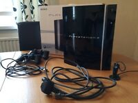 PS3 256gb with 48 games and accessories